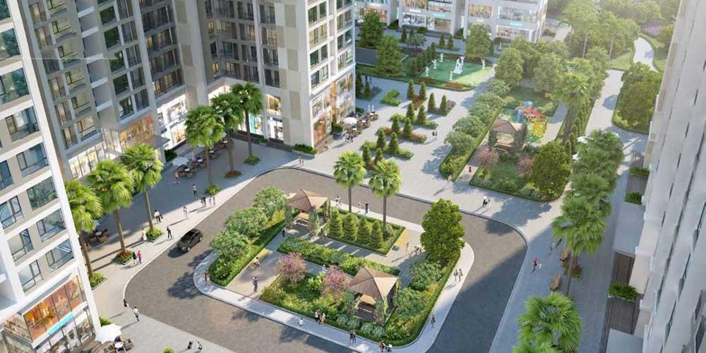 Các tiện ích tại dự án Laimian City bao gồm những gì?