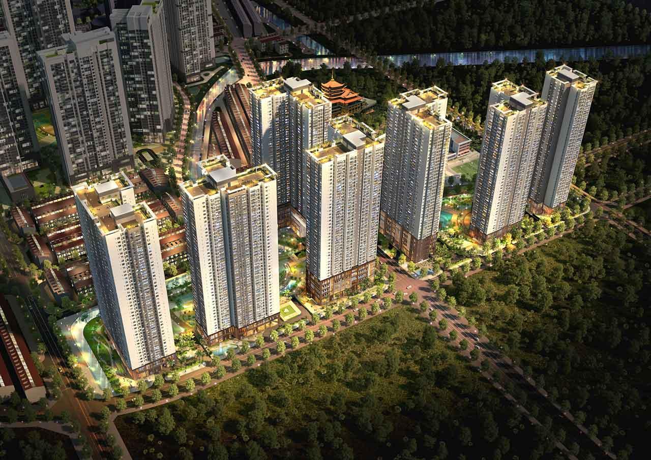 Dự án Laimian City Quận 2 với vị trí đắc địa