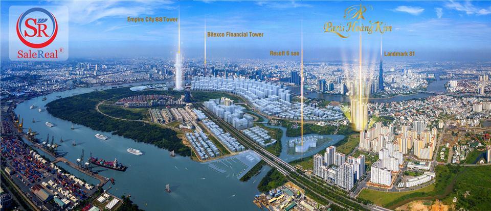 Paris Hoàng Kim – TOP 3 dự án căn hộ cao cấp HOT nhất Quận 2
