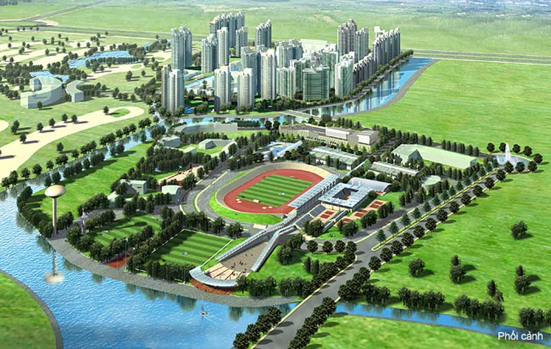 tong quan du an Saigon Sports City