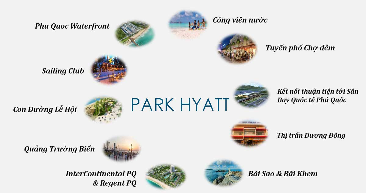 tien ich xung quanh park hyatt phu quoc