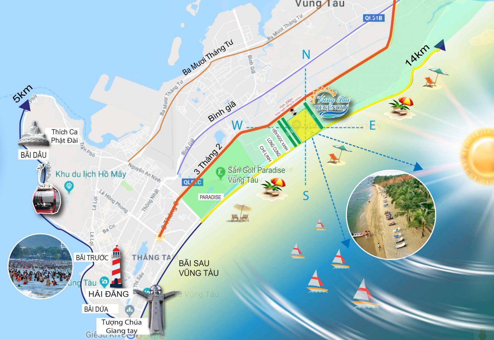 Thông tin tổng quan dự án The Maris Vũng Tàu