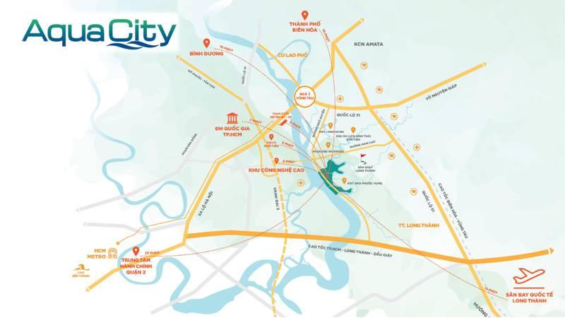 Tiềm năng gì sẽ thúc đẩy giá trị của dự án Aqua City trong tương lai?