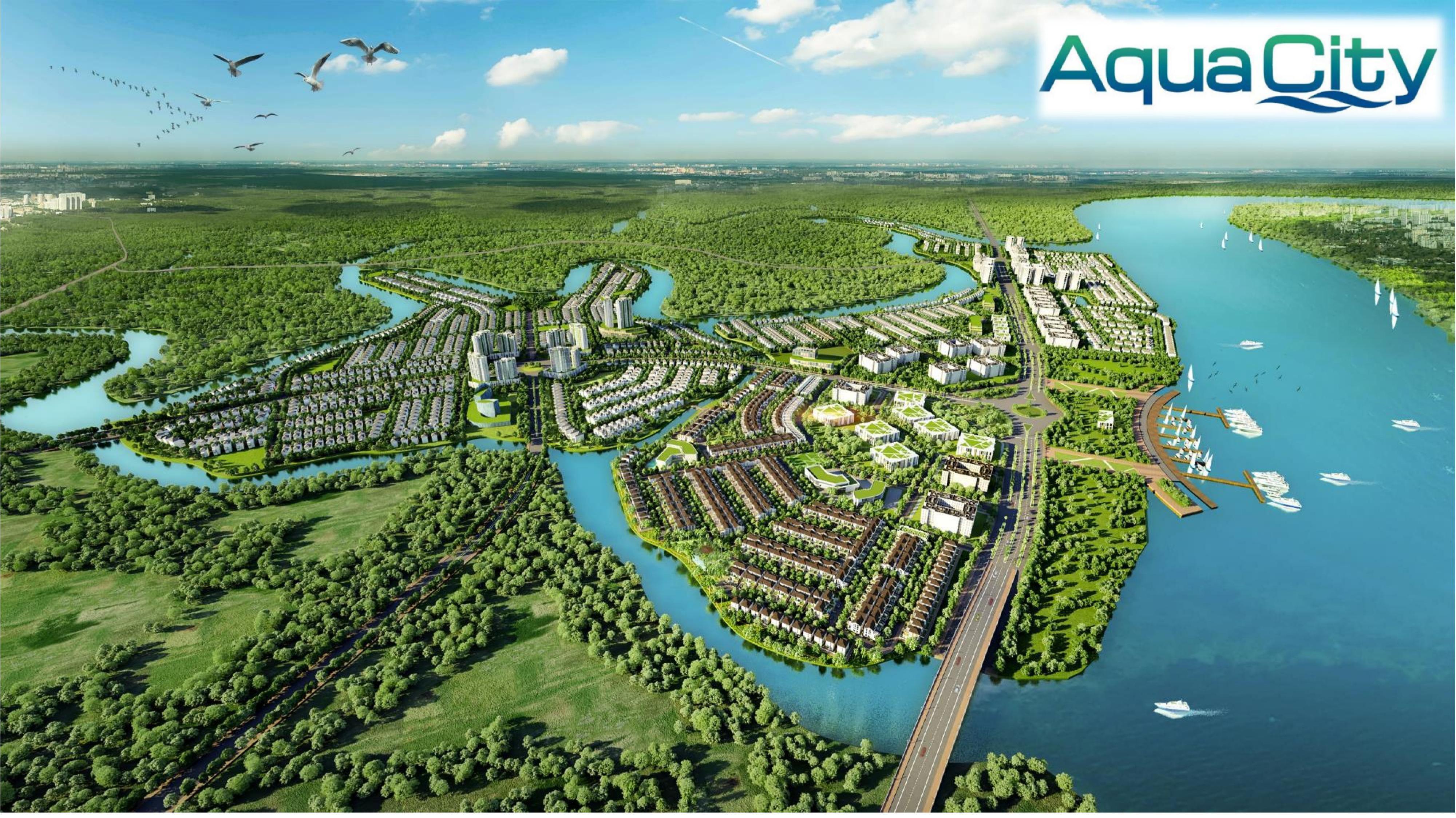 Vị trí dự án Aqua City có đặc điểm gì nổi bật?
